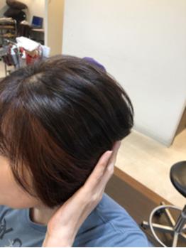 頭皮と髪に優しいカラー